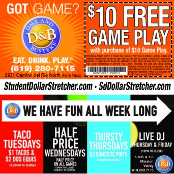 graphic about Dave and Busters Coupons Printable referred to as Dave and busters 2018 coupon codes - Walmart north austin tx